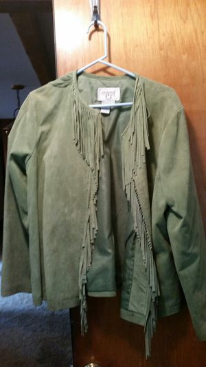 Suede Jacket from pre-estate sale. Large. for Sale in Bothell, WA