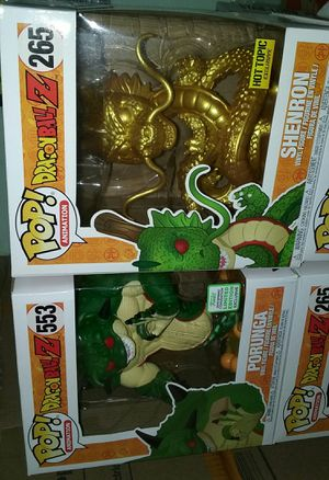 porunga spring convention exclusive/shenron golden hot topic exclusive dragonball z funko pop for Sale in Los Angeles, CA