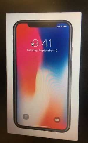 iPhone X for Sale in Annandale, VA