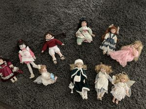 Porcelain dolls for sale for Sale in Hubert, NC