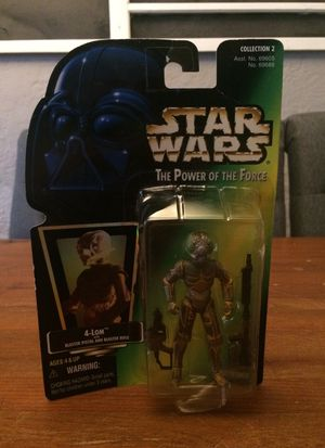 Star Wars The Power of the Force Collection 2 4-Lom droid bounty hunter action figure for Sale in Puyallup, WA