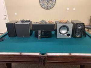 Marantz receiver with Polkaudio speakers for Sale in Chandler, AZ