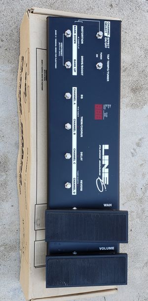 LINE 6 Floor Board Mint Condition Floorboard Pedal for Guitar Super Nice! for Sale in Lake Elsinore, CA
