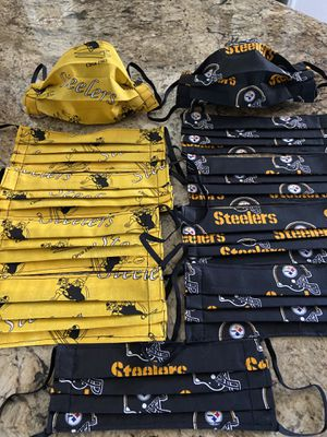 Pittsburgh Steelers Face Masks for Sale in North Las Vegas, NV