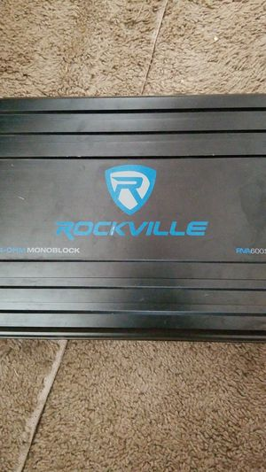 Rockville 1200 monoblock for Sale in Lorraine, KS