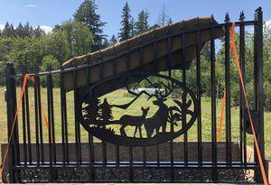 Iron Driveway Gates swing gate for Sale in Battle Ground, WA