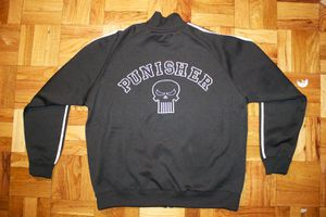 Limited Run Marvel Punisher Track Jacket (Size L) for Sale in Washington, DC