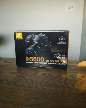 Nikon D5600 DSLR Camera+ 3 Lens: 18-55mm Lens+ 32GB Bundle- for Sale in Fuquay Varina, NC