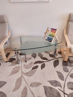 Glass table for Sale in Hallandale Beach, FL
