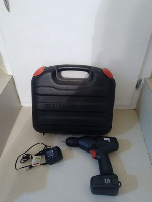 Black & Decker 7.2-Volt Cordless Drill with Keyless Chuck for Sale in Lubbock, TX