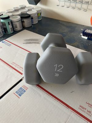Pair 12lb dumbbells for Sale in Brownsville, TX