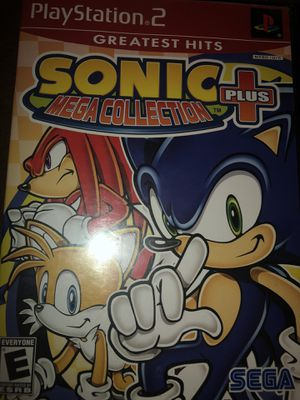 PS2 Sonic Mega Collection Plus for Sale in Tujunga, CA