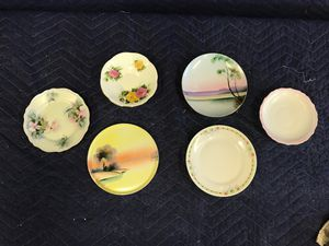 (6) Antique Small Plates / Saucers for Sale in Sun City, AZ
