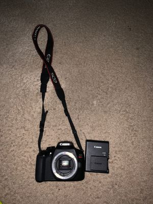 Canon T6 and One Battery pack and Charger for Sale in Springdale, MD