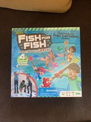 Yulu Fish For Fish Board Game NEW for Sale in Fresno, CA