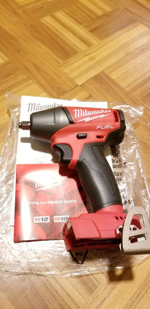 """Milwaukee 3/8"""" Impact Wrench Brushless Fuel M18 for Sale in Norwalk, CA"""
