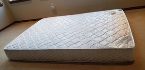Full size mattress, mattress box, and Bed Metal Frame for Sale in Renton, WA