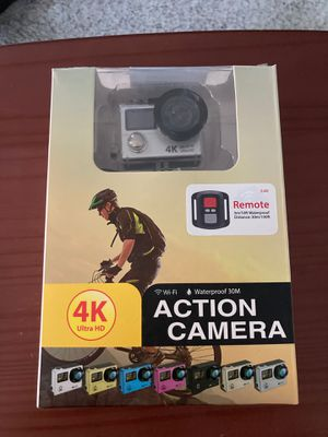 4K Ultra HD Action Camera for Sale in Kansas City, MO