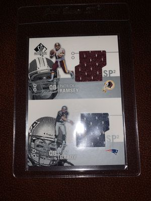 Tom Brady rare jersey card 2002 for Sale in Stoughton, MA