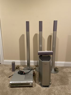 Sony stereo system with sub for Sale in Brookeville, MD