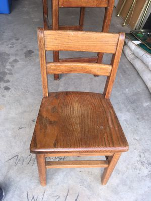 wooden chair for Sale in Broomfield, CO