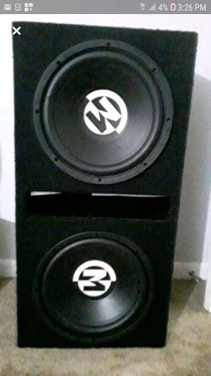 Memphis 12s Stereo system for Sale in Nashville, TN