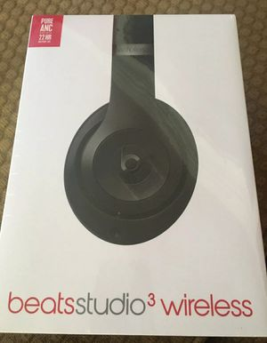 Beats Studio3 Wireless Headphones Black for Sale in Fresno, CA
