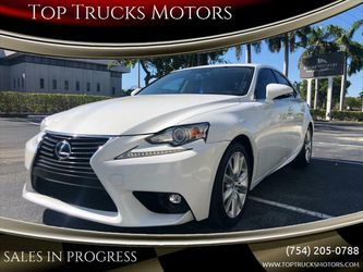 2015 Lexus Is 250 for Sale in Pompano Beach,  FL