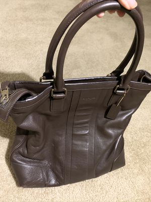 Coach Genuine Leather Bag for Sale in Fullerton, CA