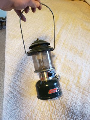 Coleman 2 mantle lamp 88 for Sale in Mukilteo, WA