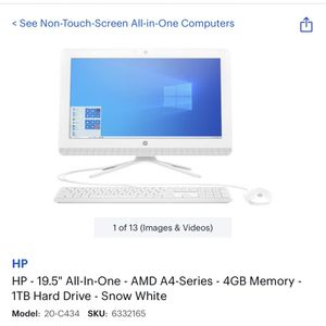 HP All In one Computer for Sale in Las Vegas, NV