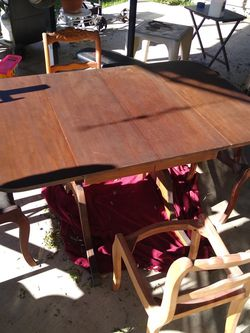 Antique Table And Chairs for Sale in Fullerton,  CA