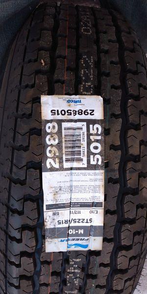 Wheel & tire new 225 15in rim for Sale in Kearns, UT