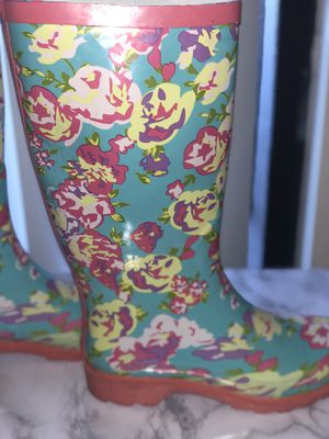 Floral rain boots for Sale in McKinney, TX