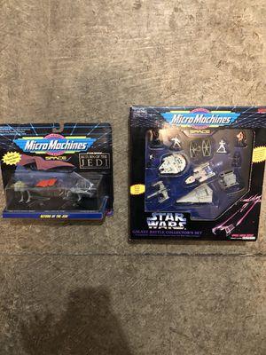 Original Star Wars Micro-Machines for Sale in Portland, OR