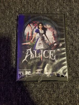 Alice pc game for Sale in Los Angeles, CA