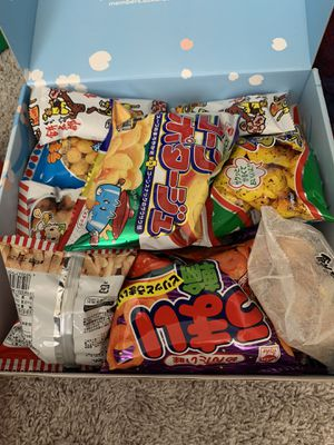Japanese snack box for Sale in Frisco, TX