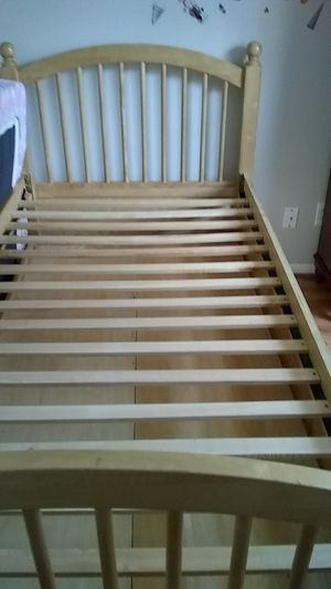 a twin bunk bed with 3 drawers for Sale in Portland, OR