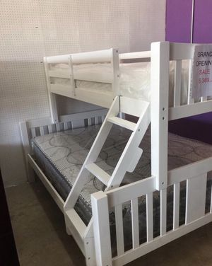 I Furniture bunkbed twin El Rio furniture finance available down payment $39 1456 belt line rd suite 121 Garland tx 75044 Open from 9:30-8:30 for Sale in Richardson, TX