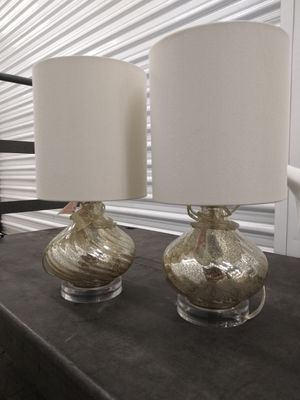 Pair of Lamps for Sale in Corona, CA