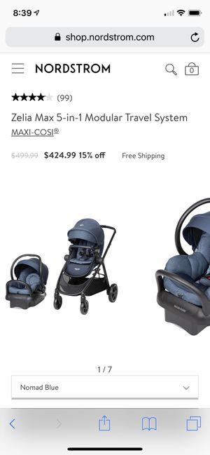 Maxi cosi zelia max 5 in 1 modular travel system for Sale in Everett, WA