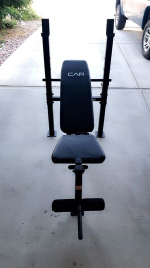 Adjustable weight lifting bench for Sale in San Tan Valley, AZ
