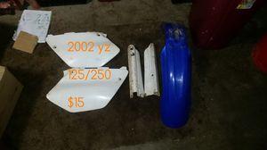 yz 125 plastics for Sale in Round Lake, IL