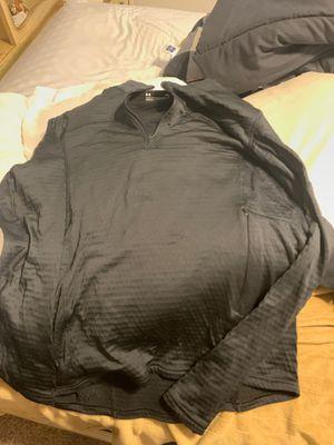 Under armor black warm up jacket size large for Sale in Hurst, TX