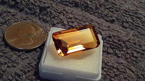 24.70 carat orange Topaz for Sale in Reidsville, NC