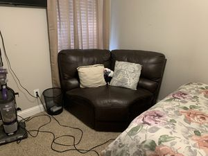corner leather couch for Sale in Dallas, TX