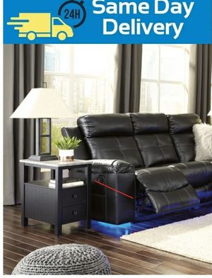📣Black Friday Sale~In stock🔅[SPECIAL] Kempten Black LED Reclining Living Room Set by Ashley for Sale in West Laurel, MD