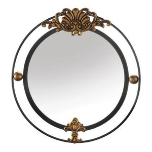 REGAL WALL MIRROR WITH GOLD ACCENT for Sale in Niceville, FL