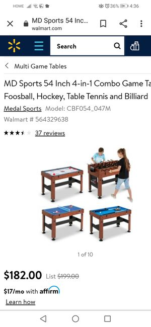 6-in-1 Multi-Game, some Accessories Included for Sale in Marietta, GA