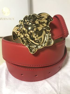 Red Versace Belt **Will arrive for Xmas! for Sale in Queens, NY